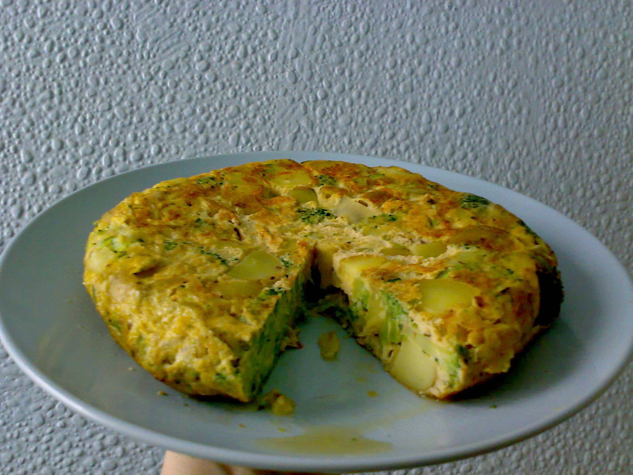 Tortilla de Patatas con Brócoli | Alison Amazed