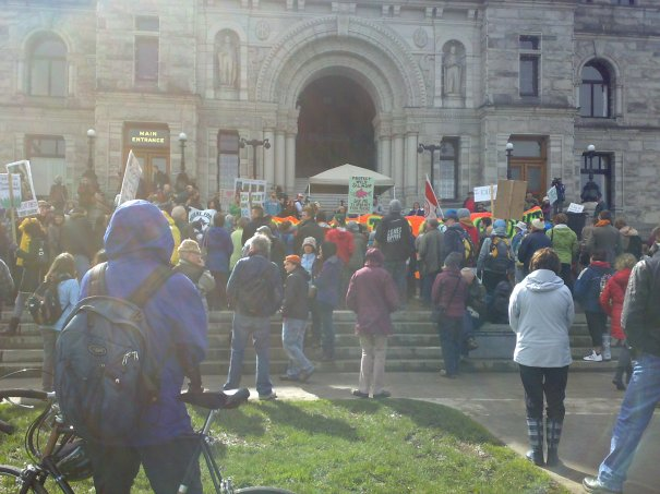 Environmental Rally at the Legislature