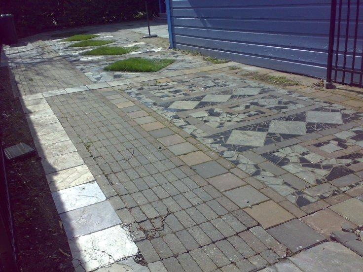 Mosaic Driveway, James Bay, Victoria