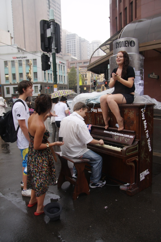 "Play Me, I'm Yours. Sydney, 2009, ""Photograph by Gino Gasparillo"""